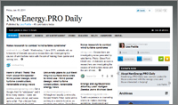 NewEnergy.PRO Daily