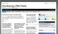 NewEnergy.PRO Daily