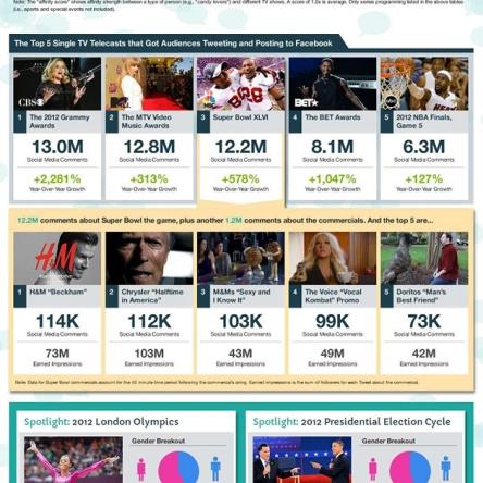 BlueFins Social TV 2012 Report