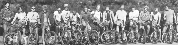Fred Wolf, far left